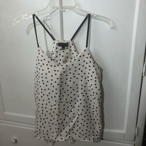 The Limited polka dot tank top!